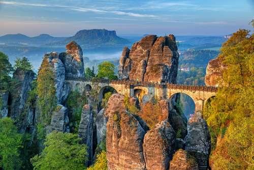 Bastei Bridge Saxon Switzerland