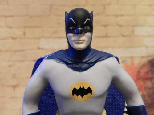Batman Superhero Toy Caped Character Comic Hero