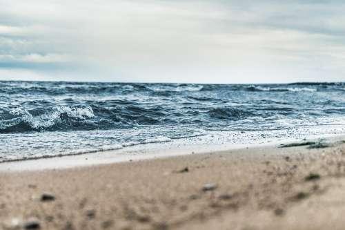 Beach Blur Daylight Nature Ocean Outdoors Sand