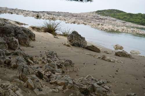 Beach Mljet Sand Croatia Sea Landscape Nature