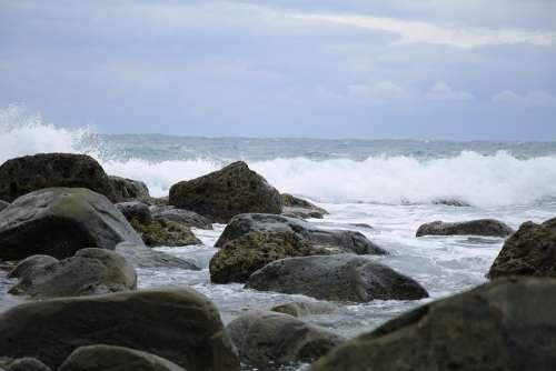 Beach Marine Sea Sea Reef Taiwan The Pacific Ocean