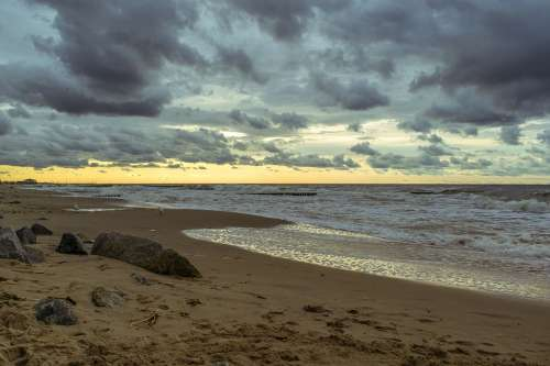 Beach Sea Water Coast Sky Ocean