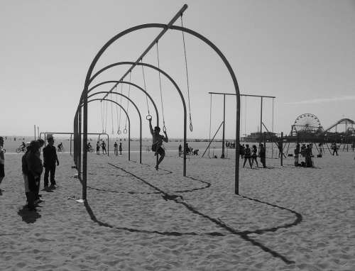 Beach Gymnastics Outdoor