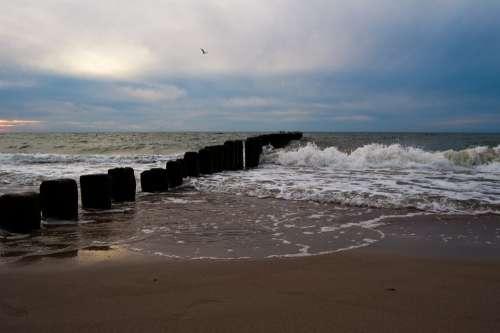 Beach Sea Sand Summer The Coast Nature Rest