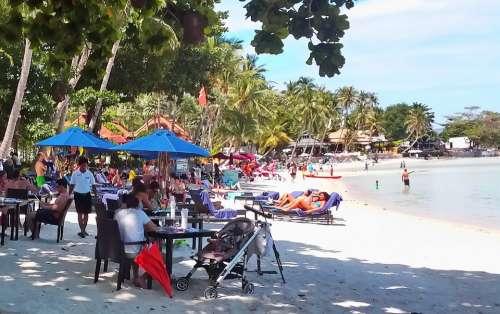 Beach Chaweng Samui Thailand Travel Chaweng Beach