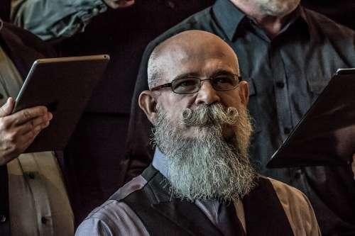 Beard Facial Hair Man Mustache Person Portrait