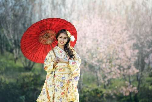 Beauty Geisha Asia Seductive Pretty Bridal