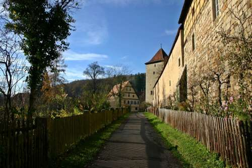 Bebenhausen Monastery Away Germany District