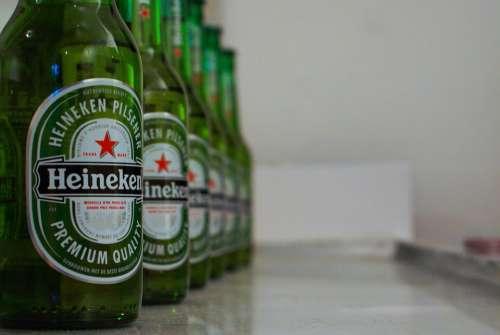 Beer Heineken Green Drink Drinking Soft Fresh