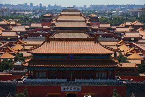 Beijing China Forbidden City Palace