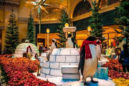 Bellagio Hotel Christmas Las Vegas