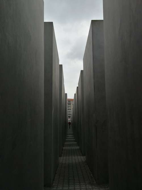Berlin Memorial Maze Holocaust