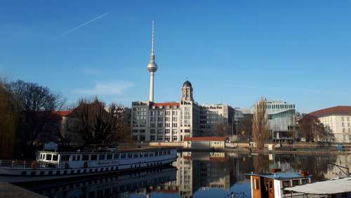 Berlin Historical Harbor Germany