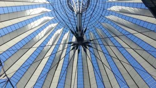 Berlin Sony Center Blanket Architecture