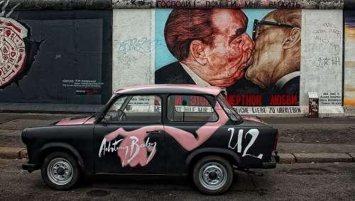 Berlin Wall East Side Berlin Germany Monument