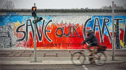 Berlin Wall East Side Gallery Berlin Germany City
