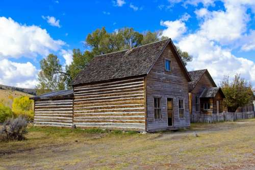 Bessette House Bannack State Park Montana Historic