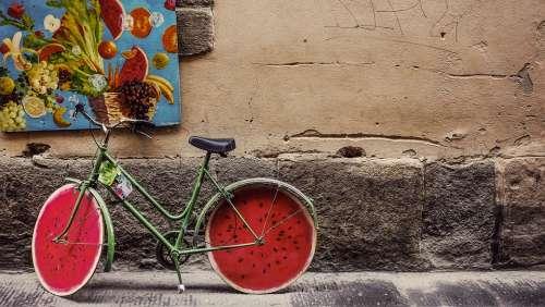 Bicycle Bike Classic Old Retro Vintage Wheels
