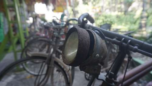 Bicycle Vintage Bike Headlight Lifestyle Vintage