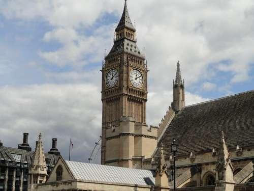 Big Ben London City Clock Tower Parliament
