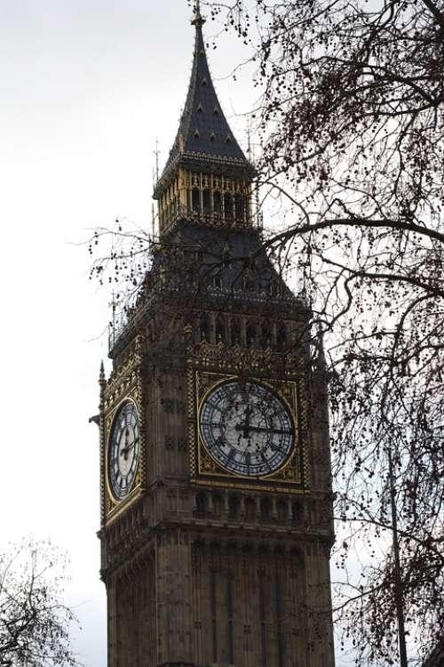 Big Ben London Clock United Kingdom
