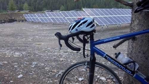 Bike Solar Panels Solar Garden Sue Sustainable
