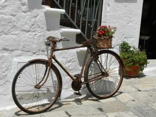 Bike Bicycle Old Rusty Lifestyle