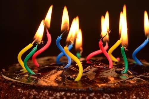 Birthday Cake Birthday Cake Dessert Celebration