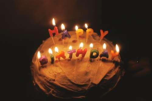 Birthday Birthday Cake Cake Candles Birthday Party