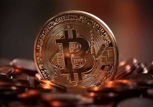 Bitcoin Cryptocurrency Digital Money Electronic