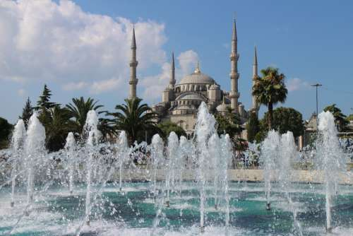 Blue Mosque Istanbul Turkish Islam Architecture