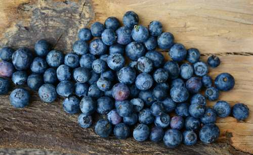 Blueberries Berries Fruit Fruits Berry Blue