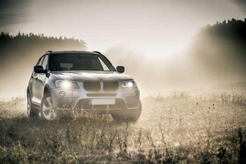Bmw Suv Auto Dare All Terrain Vehicle Fog Autumn