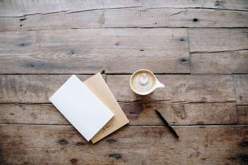 Board Desk Pen Surface Table Wood Wooden Coffee