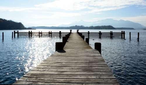 Boardwalk Overview Horizon Wide Web Water Lake