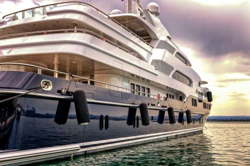 Boat Yacht Port Luxury Vacations Maritime Ship