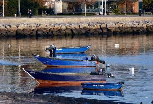 Boat Cutter Hawser Sea Water Summer The Fisherman