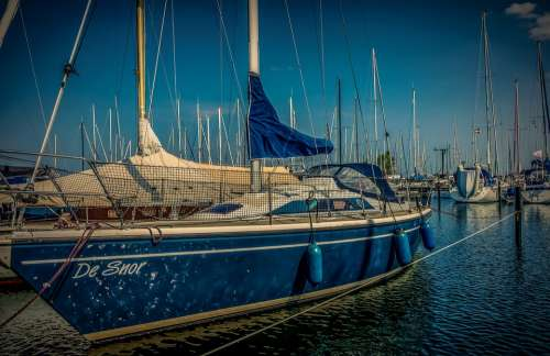 Boat Sailing Boat Powerboat Water Sea Nautical