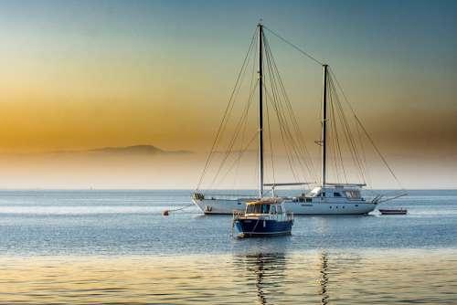 Boats Yacht Ship Water Sea Marina Travel Ocean