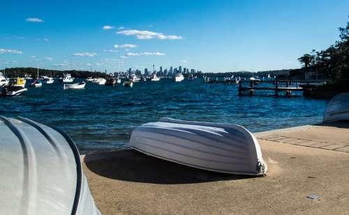 Boats Water Sydney Landscape