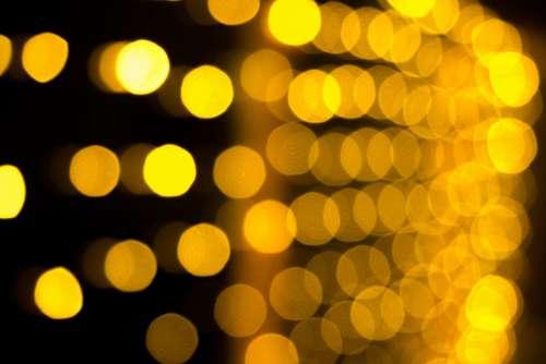 Bokeh Circles Of Light Light Reflexes Effect