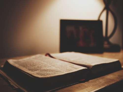 Book Bible Scripture Open Book Open Bible