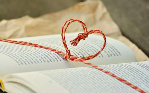 Book Book Gift Heart Gift Read Give Education