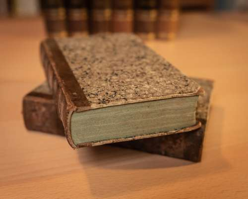Book Antique Book Stack Literature Knowledge Old