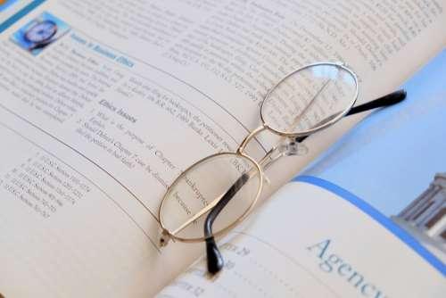 Book Reading Glasses Intelligence Lens Text