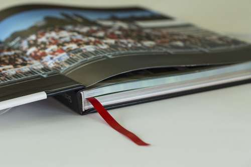 Book Pages Album Marker Binding