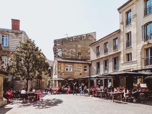 Bordeaux France Building Street Architecture City