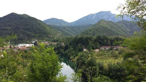 Bosnia Croatia Lake Mountains Herzegovina