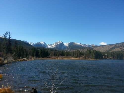Boulder Colorado Rocky Mountains Landscape Park