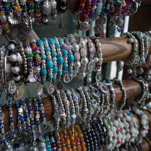 Bracelet Shop Market Display Beads Fashion